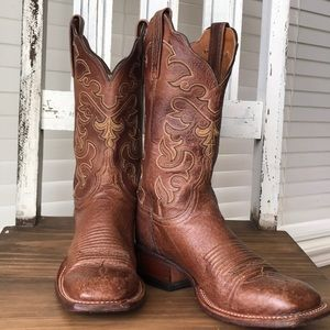 Women's Lucchese Square Toe Boots